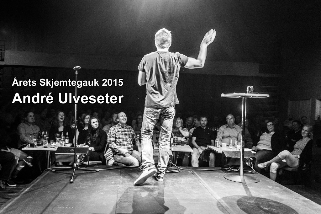 Årets Skjemtegauk 2015: André Ulveseter. Foto: Åge André Breivik, Skjemtegauk